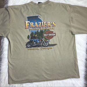Harley-Davidson Mens Graphic T-Shirt tan XL